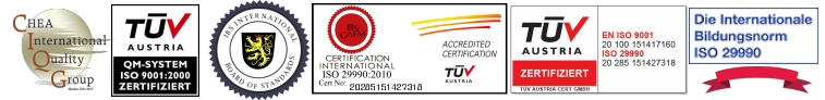 ISO Certified Accredited ICE NOCA NCCA